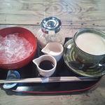 魚歌家 - 葛きり・コーヒー