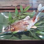 魚歌家 - 鮎の塩焼き