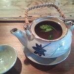 魚歌家 - 松茸の土瓶蒸し