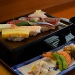 小鯛寿司 - お昼の寿司定食 これで920円は安すぎる!本物の味です。感動しました!