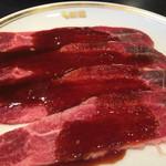 焼肉 新羅 - ツラミ タレ(¥580)