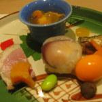 二條ふじ田 - 華やかな彩りの前菜