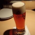 エビスバー 札幌アピア店 - 赤ビール