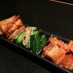 POGI - ミニキムチ盛り合わせ 2015.09再訪