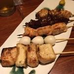 串やき・魚 新宿宮川 - 串盛り合わせ