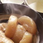 くりや - 料理写真:大根と鶏手羽の煮物