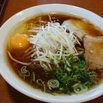 42710920 - 「玉子ラーメン+大盛」800円