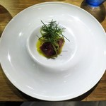 ドンブラボー - カツオのカルパッチョ