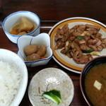 杉好食堂 - 料理写真:ホルモン定食 700円