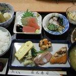 藤九寿司 - 料理写真:お昼の定食1050円