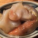 Second Court 魚 - 大津でこれが食べられるのは珍しい。イカの肝です。