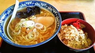 ほしの希 - ラーメン+ミニチャーハンセット850円