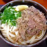 麺処 綿谷 - 牛肉ぶっかけ大 冷480円(*´д`*)やすっ