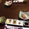 和食 山﨑 - 料理写真:付出し、小松菜のお浸し、刺身