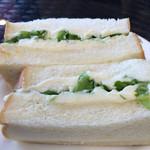 タパ - ポテサラサンドイッチ