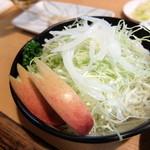 えぞや - 生野菜はサラダです