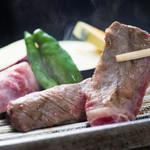 浜菊 - 和楽コース_厳選和牛の陶板焼き