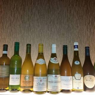 ワイン・日本酒のセレクトに力入れてます!