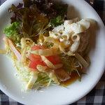 Qちゃんの台所 - Aランチのサラダ!