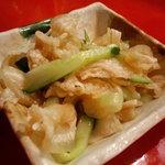 沖縄料理 きらく - ミミガーの和え物