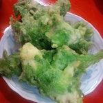沖縄料理 きらく - アーサーのてんぷら