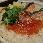 遊食彩旬 乃'SAN - 生鮭といくらの土鍋ご飯