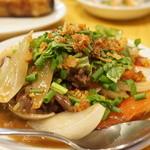 (食)越南 - ティット ボー・サオ・ダラット(ダラット風牛肉炒め・1260円)