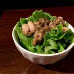 far.pitte - サラダとお豆さん。 ( ̄▽ ̄)