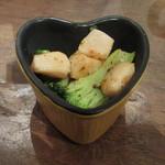 KOTOBUKI - ブロッコリーとホタテのペペロンチーノ