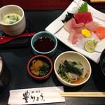 鰻・割烹豊りょう - 得々ランチ。茶碗蒸しもついて、充実、美味しい!