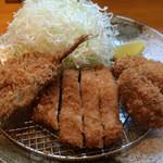 三是食堂 かつどころ - 日替わり定食B 780円