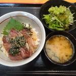 ウラニワ - りゅうきゅう丼(2015年9月来店)