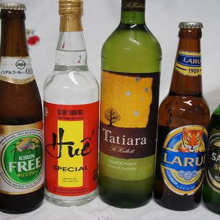 『ベトナムビール』ご用意しております