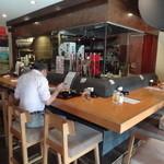 ウラニワ - 店内(カウンター席)(2015年9月来店)