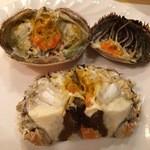 石頭楼 - 蒸し蟹は解体されて登場