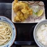 42738841 - タル鶏天ぶっかけ・タルタルソース抜き&天丼用ご飯