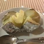 バーグイン - 小ぶりなベークドポテト