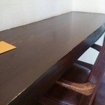 エランズカフェ - カウンター席。