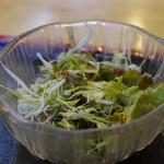 秋刀魚 - サラダ