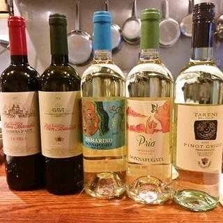 美味しいお料理に合うワインたち