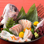九州自慢 - 料理写真:鯛のおかしら