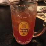 42746645 - 赤い飲み物