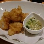 中国菜 一燈火 - イタヤ貝の揚げ物 ナンプラーソース