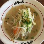 ラーメンはちべえ - 野菜しおラーメン(ハーフ) 550円