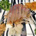 Chinese Restaurant Season - 前菜 ツバスの中華風刺身