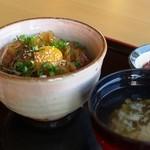 レストラン 船渡来流亭 - 寒シマメ丼セット
