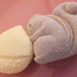 ゆらり - 干菓子 栗とリス 131円 【 2015年10月 】