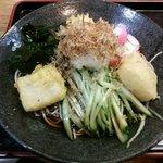 むさしの - 冷やしちから蕎麦 ¥800