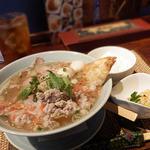 タイレストラン Smile Thailand - 「センレックナーム・ムーデーン」のランチセット(¥850)