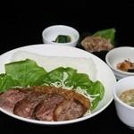 近江牛と地元野菜 ダイニングMOO - 近江牛トルネードミートローフ